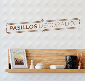 fotos de pasillos decorados